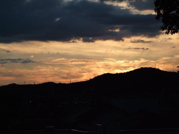 夕日っていいよね