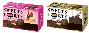 不二家、ひと口サイズのチョコレート「スイーツトルテ いちごのショート」など発売