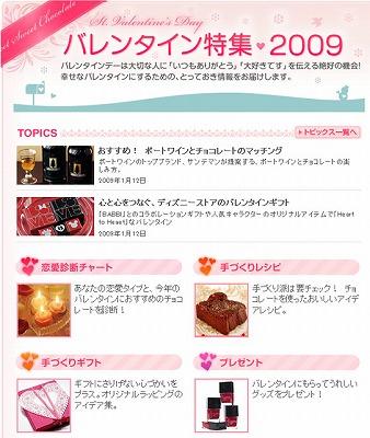 今年はどんな手作りチョコをあげる? 「バレンタイン特集2009」