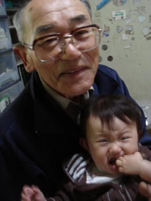 2008,5,5 ひいじいちゃん