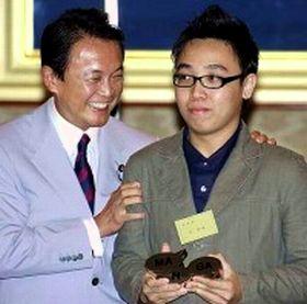 外交タロー:20070702マレーシアのBenny Wong Thong Houさんと