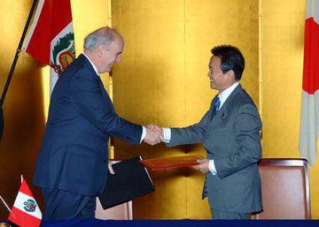 外交タロー:20061120日ペルー外相会談