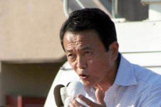 選挙もタロー:20070723青森にて応援演説2