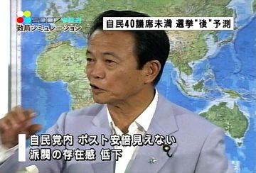 麻生太郎アソート(20070728):20070724外務大臣記者会見1