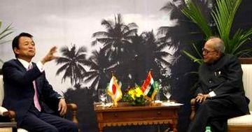 外交タロー:20070801日インド外相会談