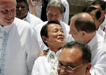 外交タロー:20070802ASEAN地域フォーラム閣僚会議4「ソラナ氏と」