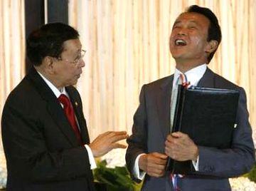 外交タロー:20070731日フィリピン外相会談「署名式」