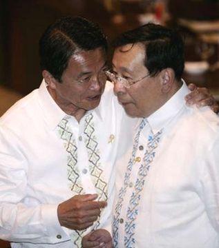 外交タロー:20070802ASEAN地域フォーラム閣僚会議「フィリピン・ロムロ外相と」