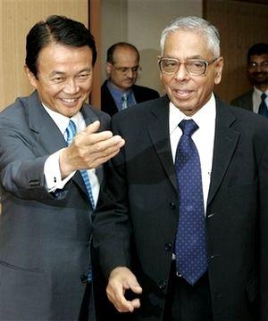 外交タロー:20070807ナラヤナン・インド国家安全保障顧問2