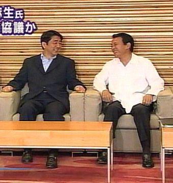 会議だタロー:20070810閣議にて