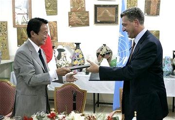 外交タロー:20070813フィリッポ・グランディUNRWA事務次長と書簡の交換