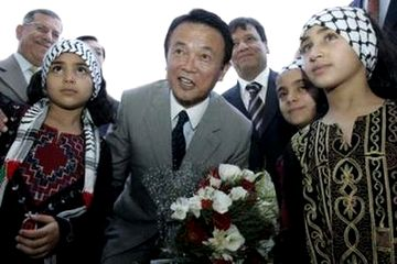 外交タロー:20070813パレスチナ難民キャンプ訪問1