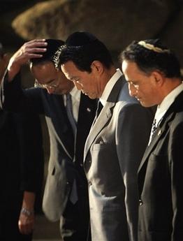 外交タロー:20070814ホロコースト記念館を訪問6