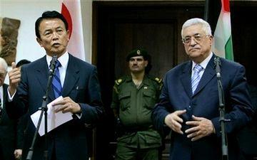 外交タロー:パレスチナのアッバス議長との会談5