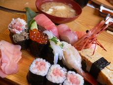 特選寿司&カニ汁