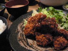 マグロフィレ定食