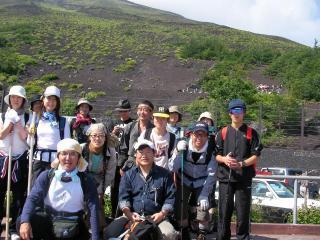2008冨士登山①