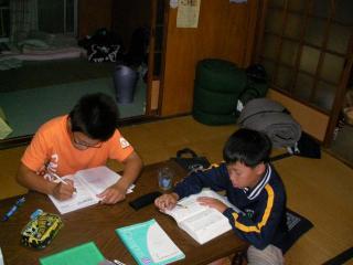 2008合宿「お勉強」