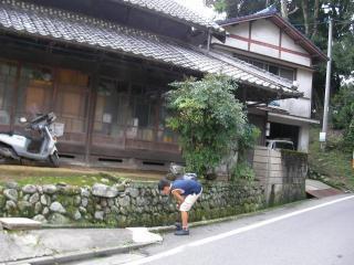 2008合宿「田舎の家」