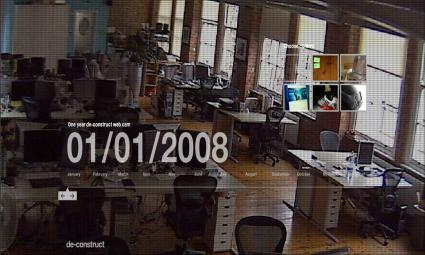One year de-construct web cam