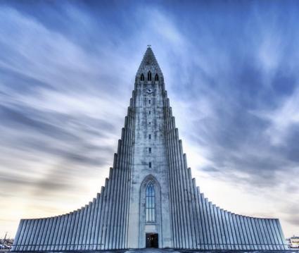 The Church of Hallgrímur, Reykjavík, Iceland