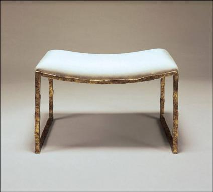 versailles gold giacometti stool