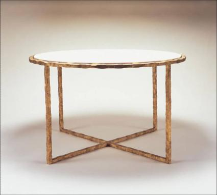 round giacometti table