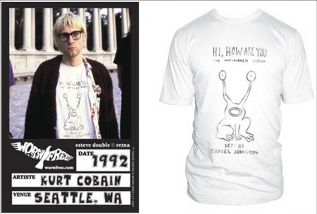 Worn Free_Kurt Cobain