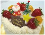 ミニヨンさんクリスマスケーキ