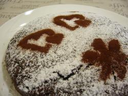 20090214ショコラケーキ1