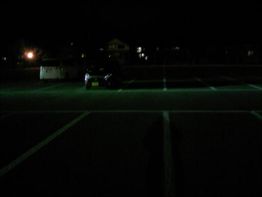 残業の駐車場