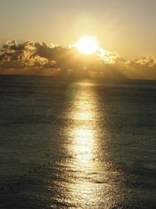 熱海の朝焼け①