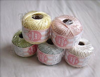 コットンレース糸