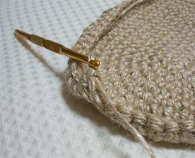 麻ひも編み?