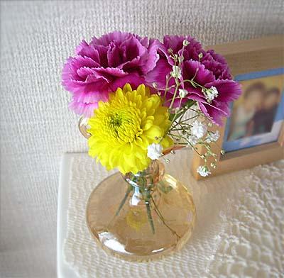 7月の部屋花