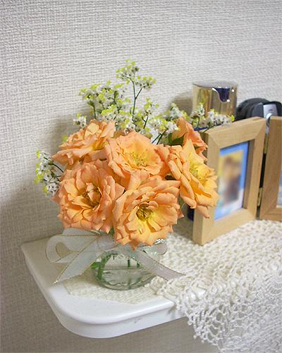 200709069月の部屋花