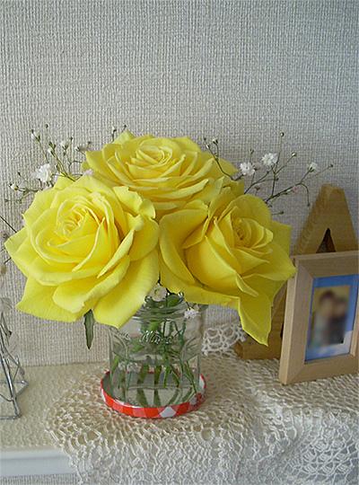 20071207黄色い薔薇②