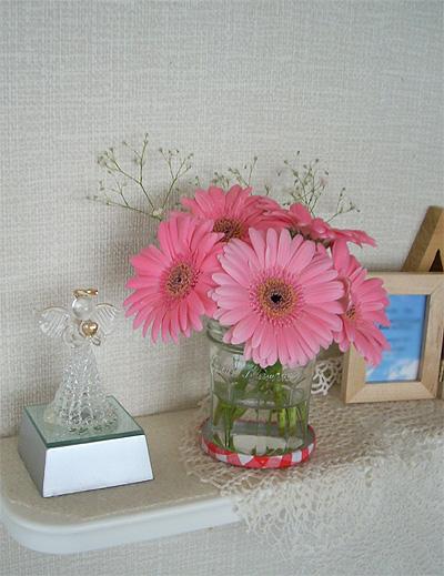 20080106仮部屋花