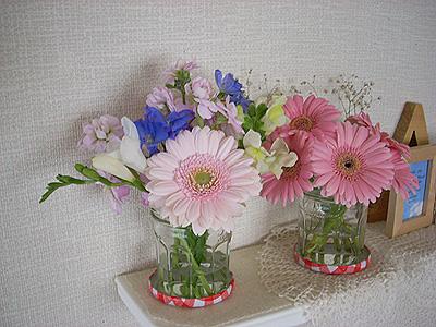 1月の部屋花