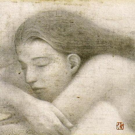 「夜の詩」・18.0×18.0㎝