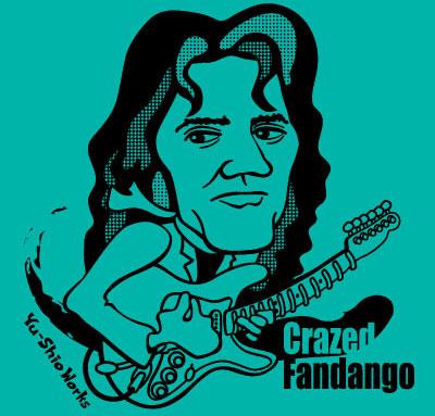 ロックTシャツ Crazed Fandango