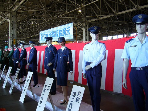 制服展示。