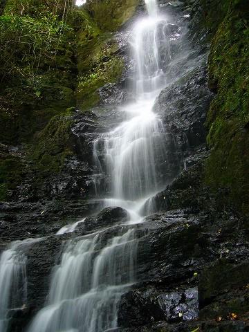 これも滝。