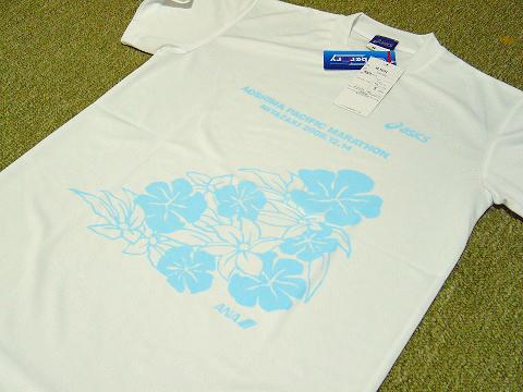 参加賞のTシャツ。