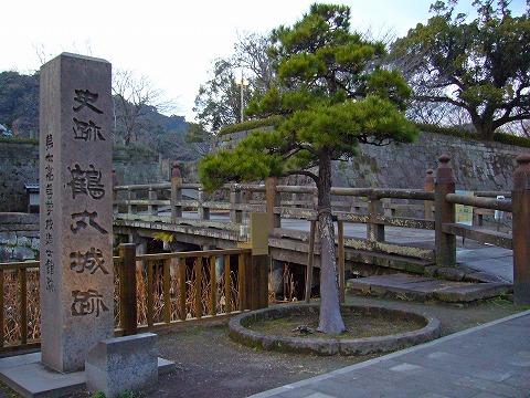 鶴丸城跡。