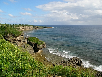 沖縄本島最南端の喜屋武岬(きゃんみさき)