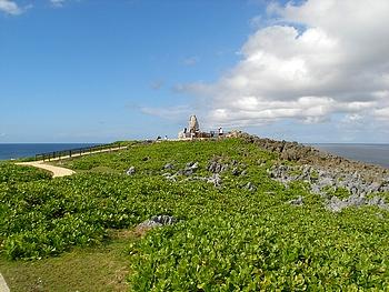 沖縄本島最北端の 辺戸岬