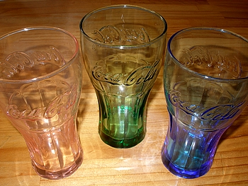 Coke Glass キャンペーン