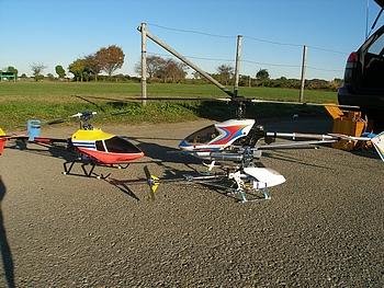 久々の電動ヘリコプター