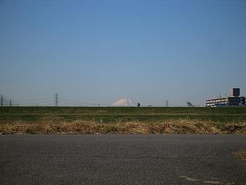 富士山が良く見えました。